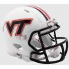 Riddell NCAA Virginia Tech Hokies Matte White Revolution Speed Mini Helmet