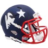 New England Patriots 2019 AMP Riddell Mini Speed Helmet