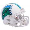 Riddell NCAA Tulane Green Wave Angry Wave Speed Mini Football Helmet