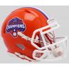 Riddell NCAA Clemson Tigers 2018 National Champions Speed Mini Football Helmet