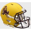 Arizona St Sun Devils 2019 Matte Yellow Sparky Riddell Full Size Authentic Speed Helmet