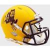 Arizona St Sun Devils 2019 Matte Yellow Sparky Riddell Mini Speed Helmet