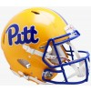 Pittsburgh Panthers 2019 Gold Riddell Full Size Authentic Speed Helmet
