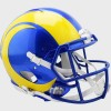 Los Angeles Rams Riddell Full Size Authentic Speed Helmet