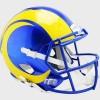 Los Angeles Rams New 2020 Riddell Full Size Replica Speed Helmet