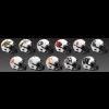 Limited Edition College Lunar 2021 Riddell Mini Speed Helmets