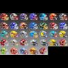 Limited Edition NFL Flash 2021 Riddell Mini Speed Helmets
