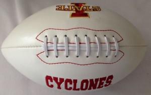 Iowa St Cyclones K2 Signature Series Full Size Football