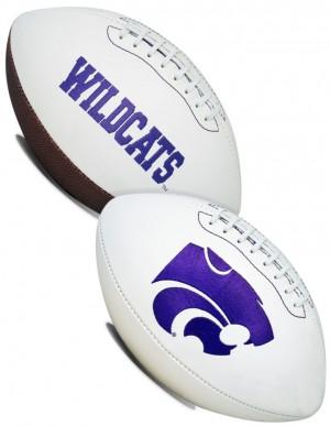 Kansas St Wildcats K2 Signature Series Full Size Football