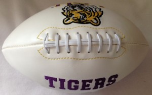 LSU Tigers K2 Signature Series Full Size Football