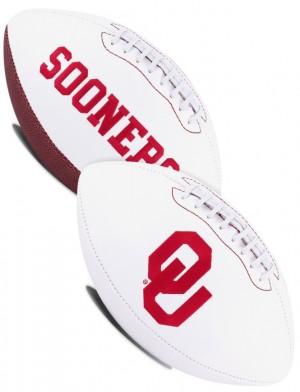 Oklahoma Sooners K2 Signature Series Full Size Football