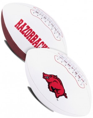 Arkansas Razorbacks K2 Signature Series Full Size Football