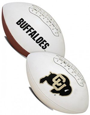 Colorado Buffaloes K2 Signature Series Full Size Football