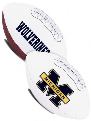 Michigan Wolverines K2 Signature Series Full Size Football