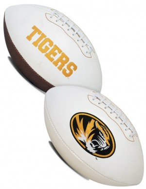 Missouri Tigers K2 Signature Series Full Size Football