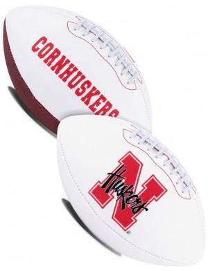 Nebraska Cornhuskers K2 Signature Series Full Size Football