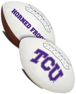 TCU Horned Frogs K2 Signature Series Full Size Football