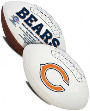 Chicago Bears K2 Signature Series Full Size Football