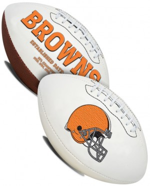 Cleveland Browns K2 Signature Series Full Size Football
