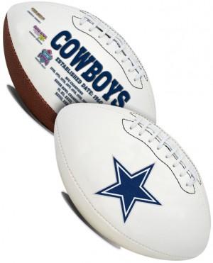 Rawlings NFL Dallas Cowboys Signature Series Full Size Football