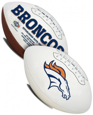 Denver Broncos K2 Signature Series Full Size Football