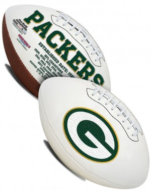 Green Bay Packers K2 Signature Series Full Size Football
