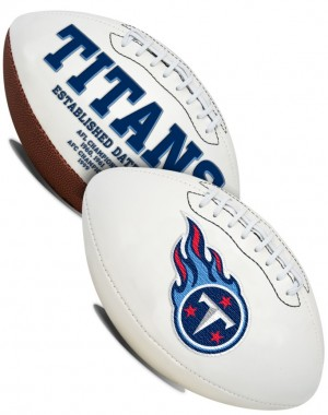 Tennessee Titans K2 Signature Series Full Size Football