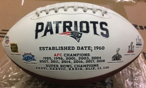 Rawlings NFL New England Patriots Signature Series Full Size Football