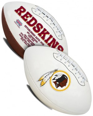 Washington Redskins K2 Signature Series Full Size Football