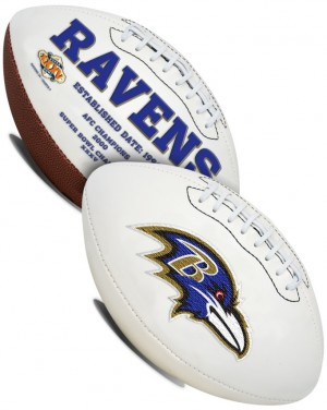 Baltimore Ravens K2 Signature Series Full Size Football