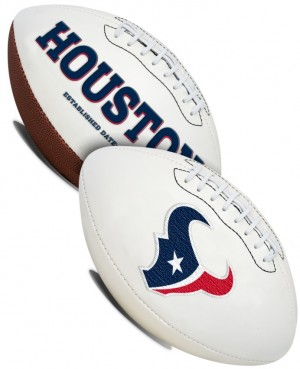 Houston Texans K2 Signature Series Full Size Football