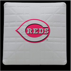 Cincinnati Reds Jack Corbett Hollywood Authentic Full Size Base