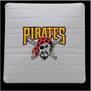Pittsburgh Pirates Jack Corbett Hollywood Authentic Full Size Base