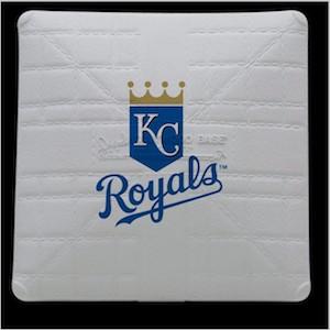 Kansas City Royals Jack Corbett Hollywood Authentic Full Size Base