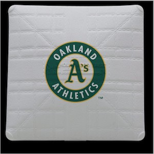 Oakland Athletics Jack Corbett Hollywood Authentic Full Size Base