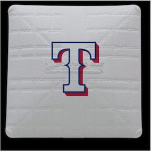 Texas Rangers Jack Corbett Hollywood Authentic Full Size Base
