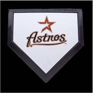 Houston Astros Authentic Full Size Home Plate