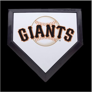 San Francisco Giants Authentic Full Size Home Plate