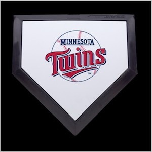 Minnesota Twins Authentic Full Size Home Plate
