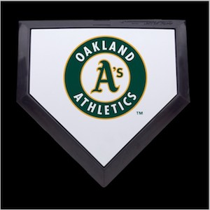Oakland Athletics Authentic Full Size Home Plate