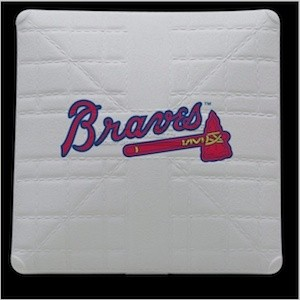 Atlanta Braves Authentic Mini Base