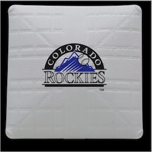Colorado Rockies Authentic Mini Base
