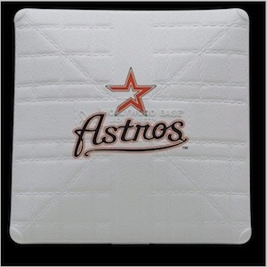 Houston Astros Authentic Mini Base