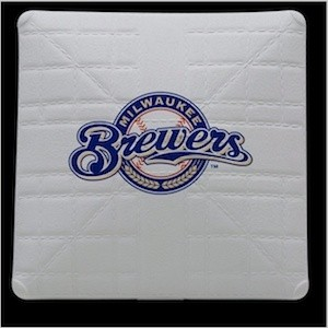 Milwaukee Brewers Authentic Mini Base