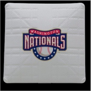 Washington Nationals Authentic Mini Base