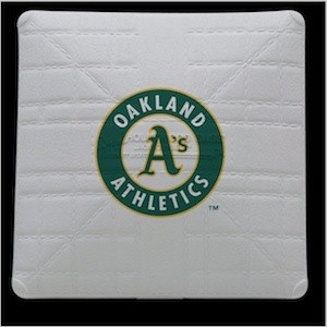 Oakland Athletics Authentic Mini Base
