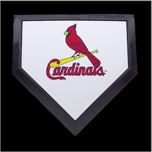 Saint Louis Cardinals Authentic Mini Home Plate