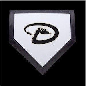 Arizona Diamondbacks Authentic Mini Home Plate