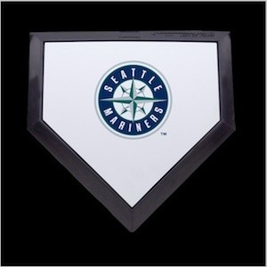 Seattle Mariners Authentic Mini Home Plate