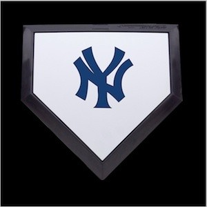 New York Yankees Authentic Mini Home Plate
